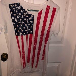 Sonoma American flag tee